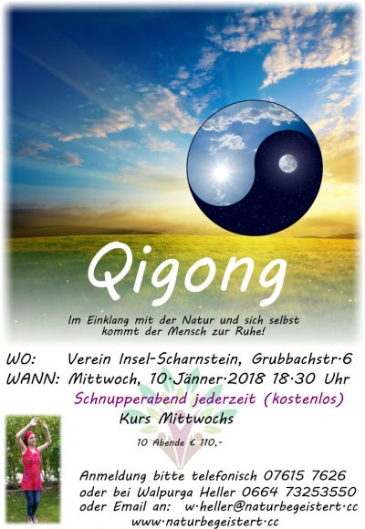 Qigong Kurs ab 10. Jänner 2018