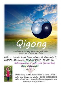Qigong wird fortgesetzt